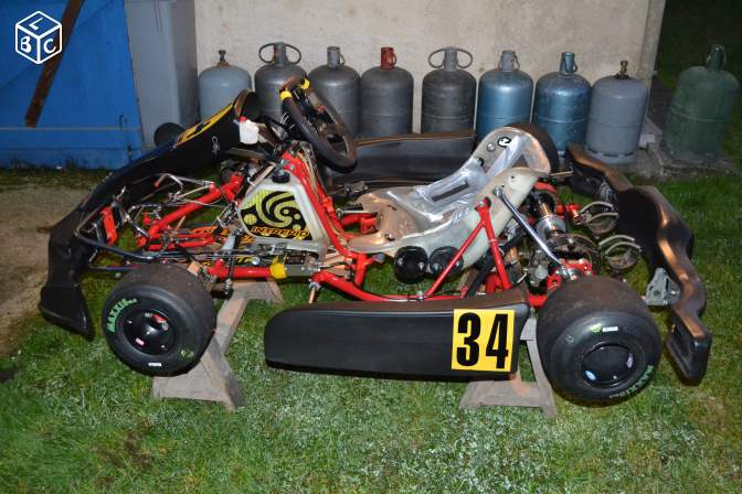Chassis intrepid kz125 ,ideal rotax ou x30