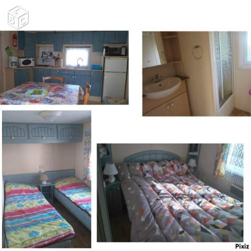 Location mobil-home camping 2 étoiles