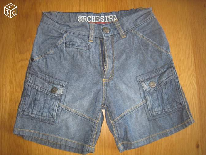 Lot de 2 bermuda/short T.10 ans mamé95