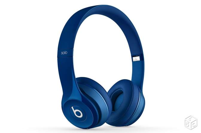 Casque audio Beats by Dre Solo 2 - Bleu