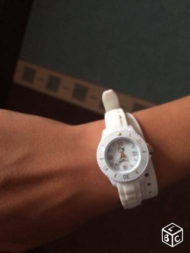 Montre Ice watch blanche