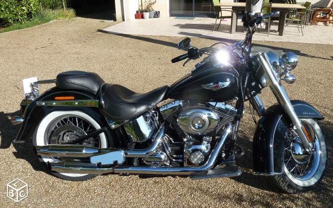 Harley davidson softail deluxe 2011