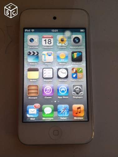 Ipod touch 4 blanc
