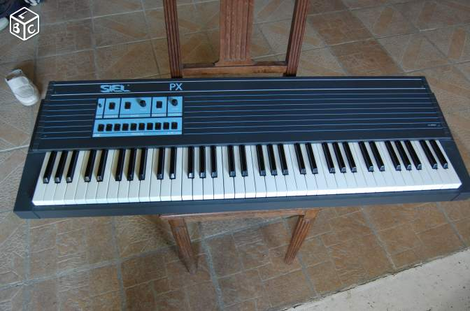 Clavier piano synthétiseur siel px vintage