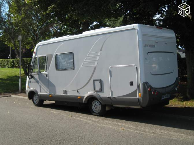 Rare, Hymer B514, 6m40, gde soute, 2 couchages 140