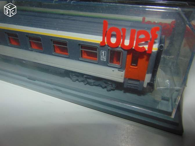 Voitures corail train miniature