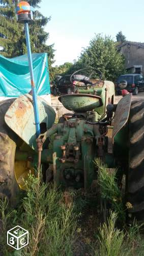 Tracteur de collection