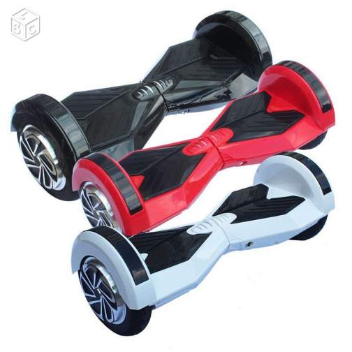 HOVERBOARD 8 POUCE XL NEUF: BLUETOOTH, SAC, CLÉ