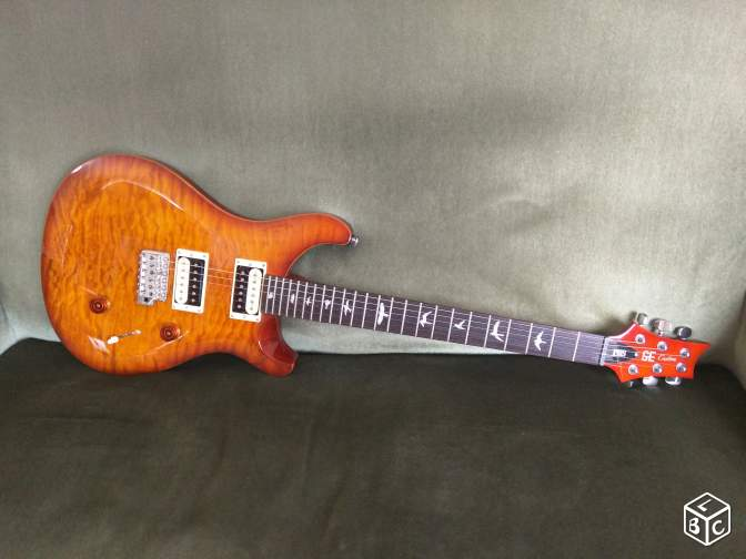 PRS SE Custom 24 Quilt Limited Edition (RARE)