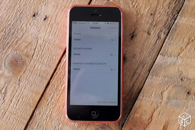 Urgent iPhone 5C rose