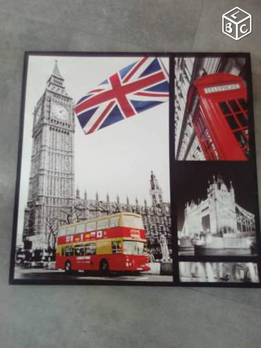 lot de 2 toiles London