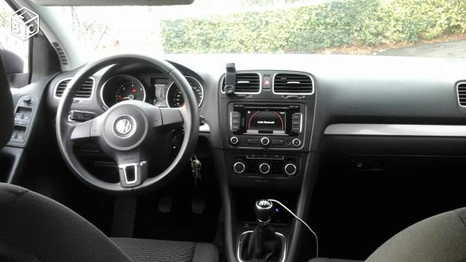 Golf 6 irreprochable gps tqctile