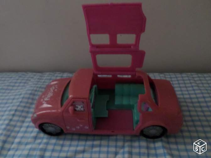 Polly pocket voiture décapotable