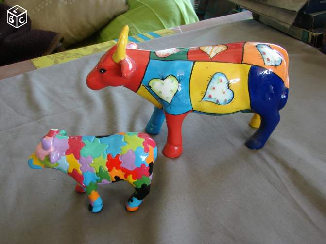 Vaches multicolores