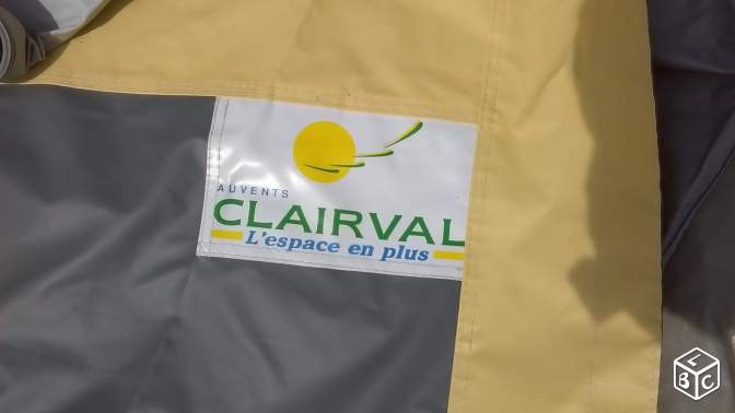 Auvent complet neuf CLAIRVAL