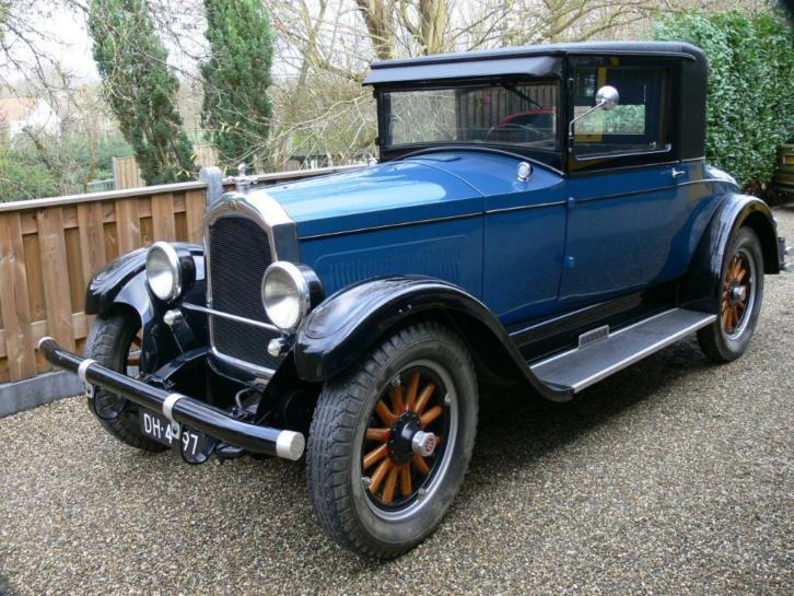 Willys Knight 70A Coupe - 1927 - Unieke auto - Top staat!