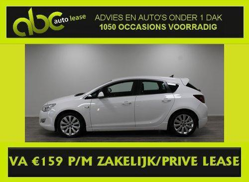 OPEL ASTRA 1.4 T 140PK 5DRS COSMO FULL OPTIONS va €159,- PM.