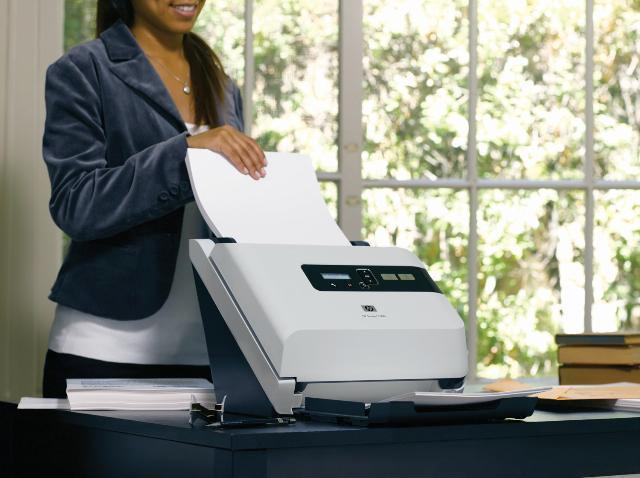 HP Scanjet 7000 Document - Archief Scanner High Speed
