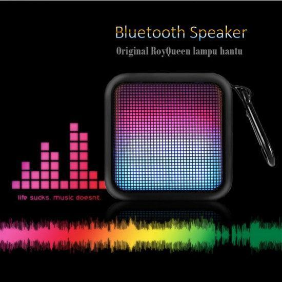 RoyQueen Phantom T600 Color Change Wireless Bluetooth Spe...