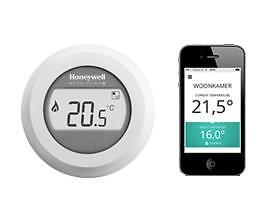 Honeywell Round Modulerend - Slimme Internet Thermostaat
