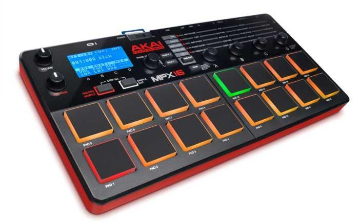 Akai MPX16 sample recorder en player