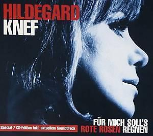 cd box - Hildegard Knef - Fuer Mich Soll's Rote Ros