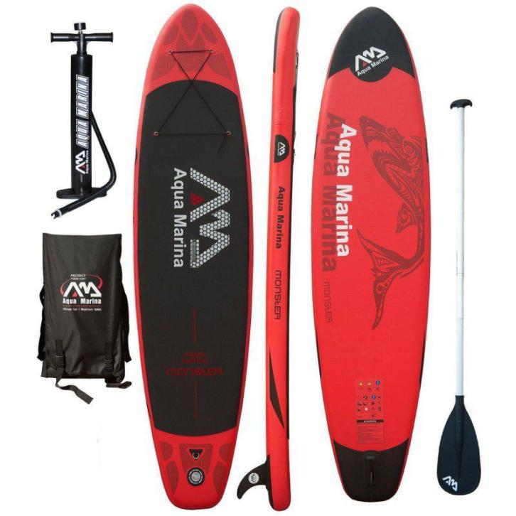 Aquamarina Monster - Beste SUP board - Stand Up Paddle