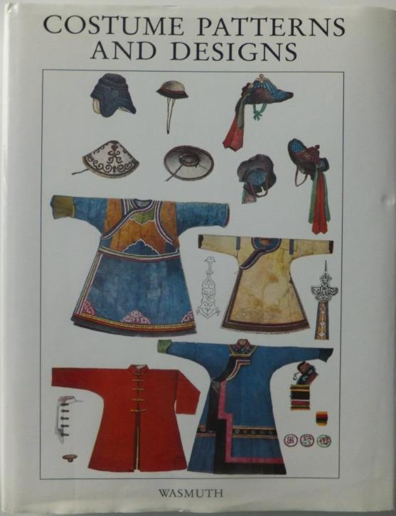 Costume Patterns and Designs. Kostuums, patronen.