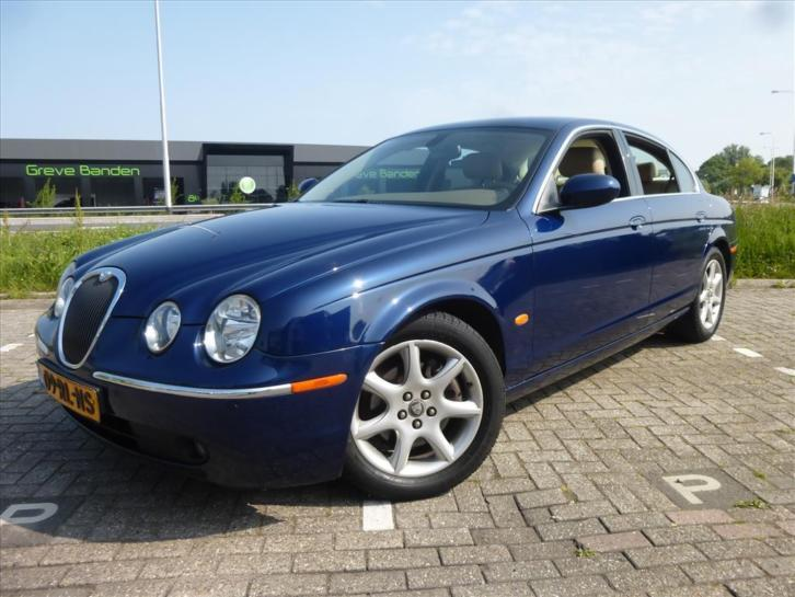Jaguar S-Type 2.5 V6 EXECUTIVE AUT, ERG MOOI !