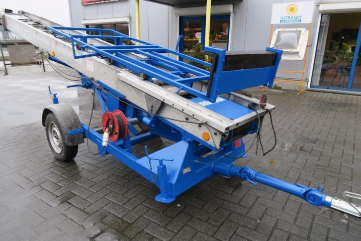 Klaas ladderlift - daklift 21m € 3250