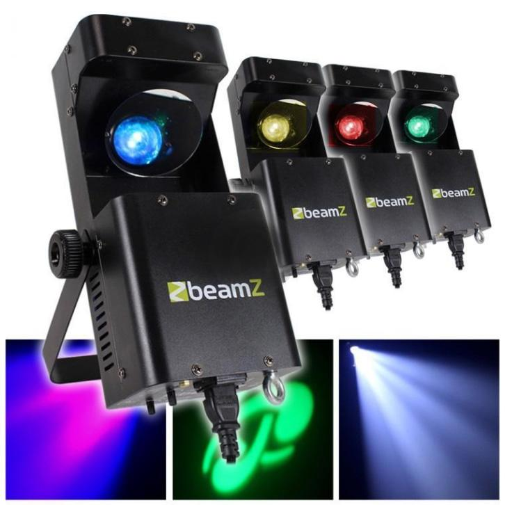 4x BeamZ Wildflower LED scanner