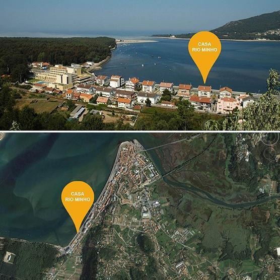 Te huur 4 persoons appartement (max. 10p) in Caminha