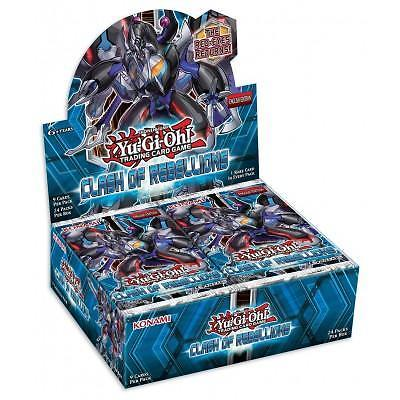 Yu-Gi-Oh! Clash of Rebellions - Booster Box