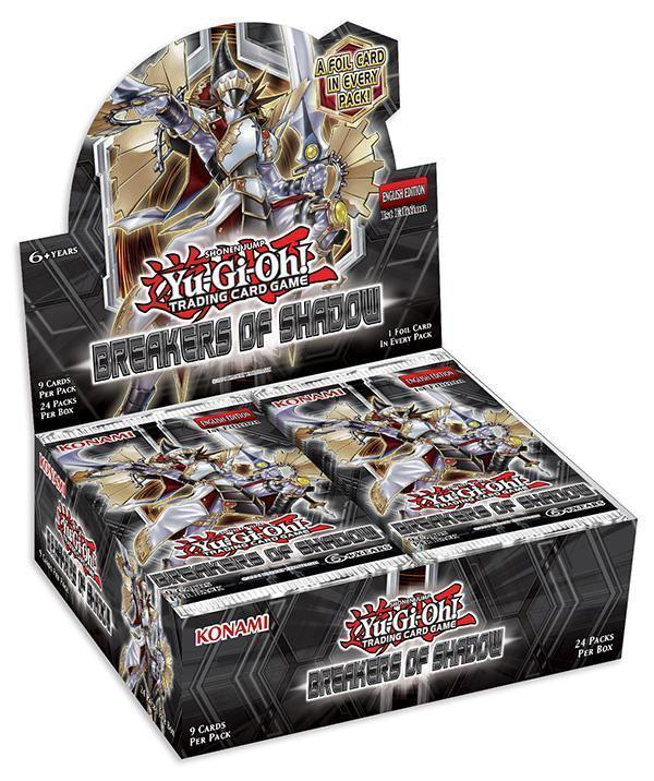Yu-Gi-Oh! Breakers of Shadow - Booster Box