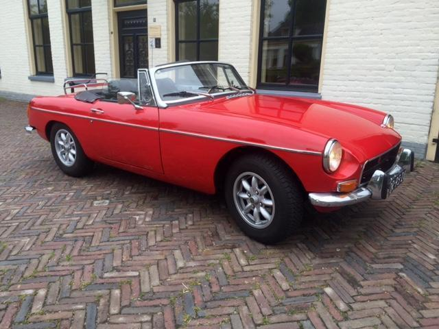 MGB Cabriolet 1971 in perfecte staat