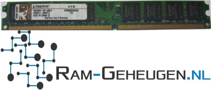 2GB DDR2 800MHZ (PC2-6400) Kingston geheugen