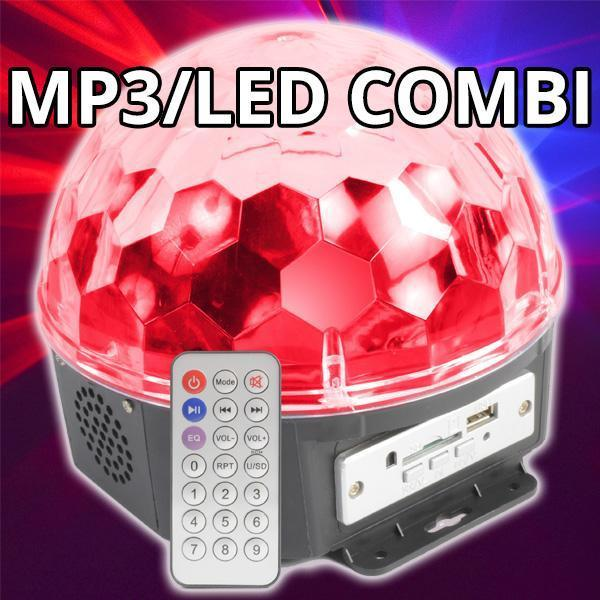 Magic Jelly Ball LED Effect met MP3 speler - Slechts 29,90!