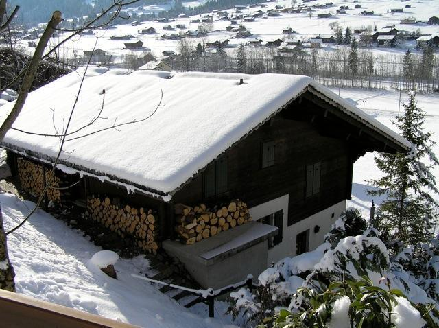 Chalet Lenk ski wintersport WIFI