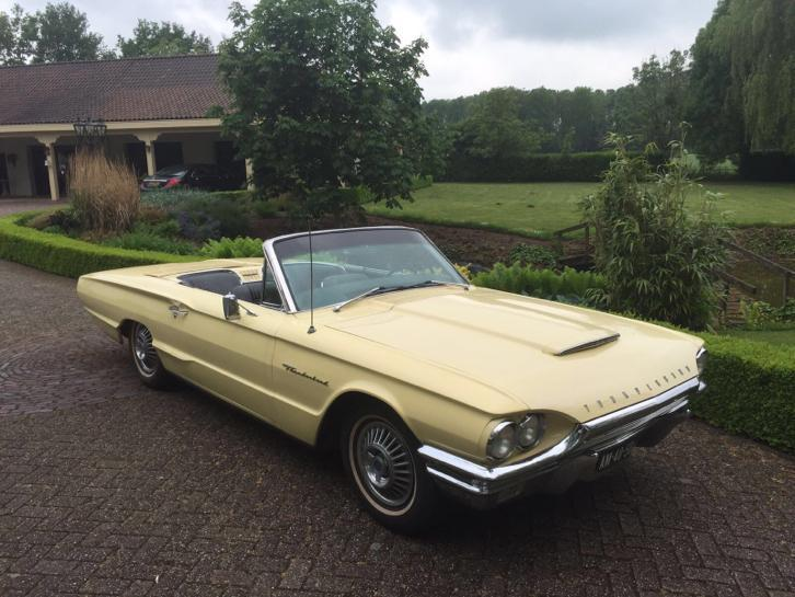 Ford thunderbird 1964 cabriolet automaat