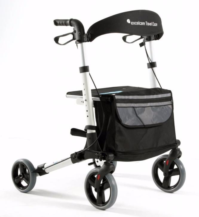 Lichtgewicht Rollator Travel Eaze Salt White