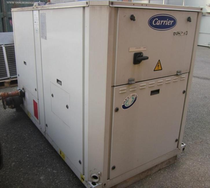 Carrier Chiller koudwater koelmachine airco 50 kW 30RA050