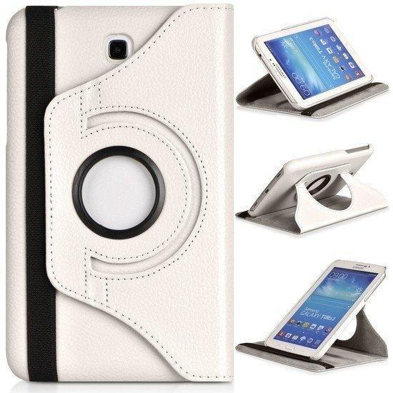 Samsung galaxy tab A 9.7 hoesje 360° draaibare case wit