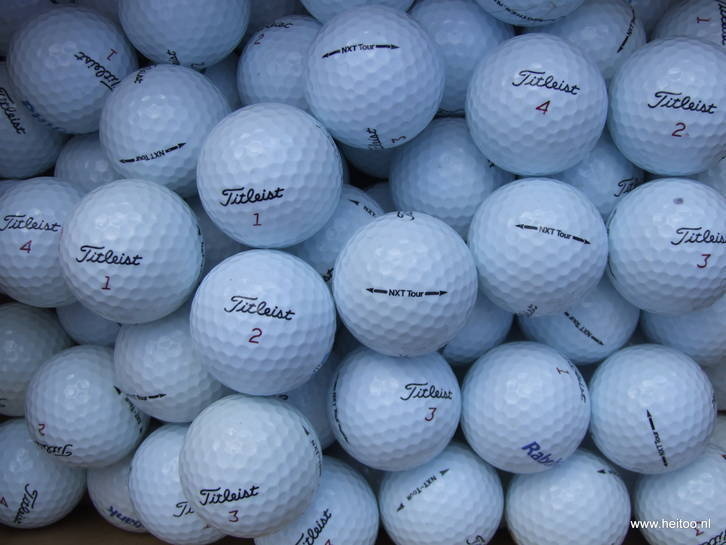 Titleist Pro v1 / NXT Tour / DT Solo / NXT Extreme lakeballs