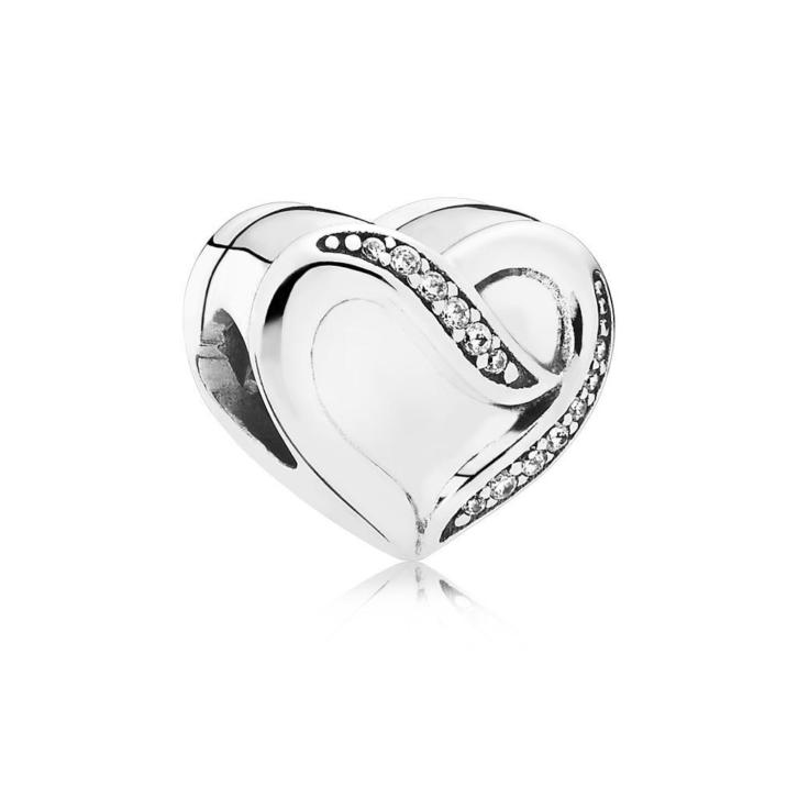 Pandora Zilveren bedel 'Ribbon of Love' 791816CZ