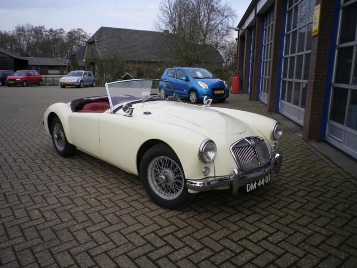 MG A Roadster 1959 Wit
