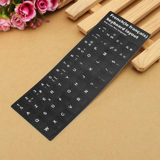 French Keyboard Sticker for Azerty Keyboard