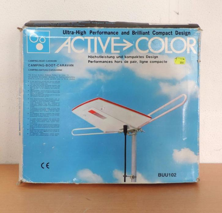 5198. Buitenantenne Active Color BUU102