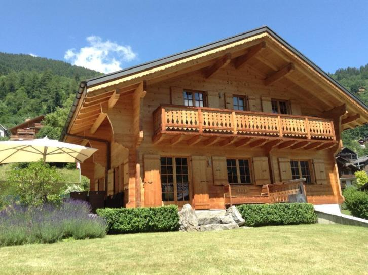 Top chalet in Champery (Wallis) - Portes du Soleil