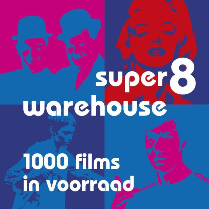 Super8warehouse: alle soorten super 8-films