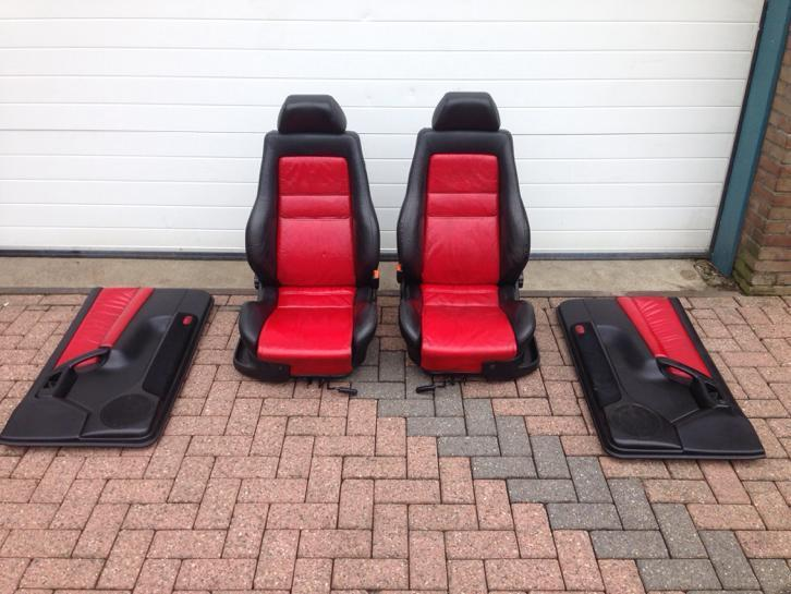 Recaro colour concept golf 3 cabrio interieur leder